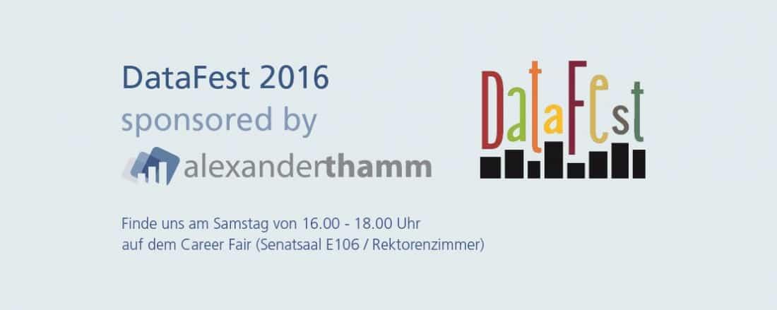 DataFest 2016 an der LMU
