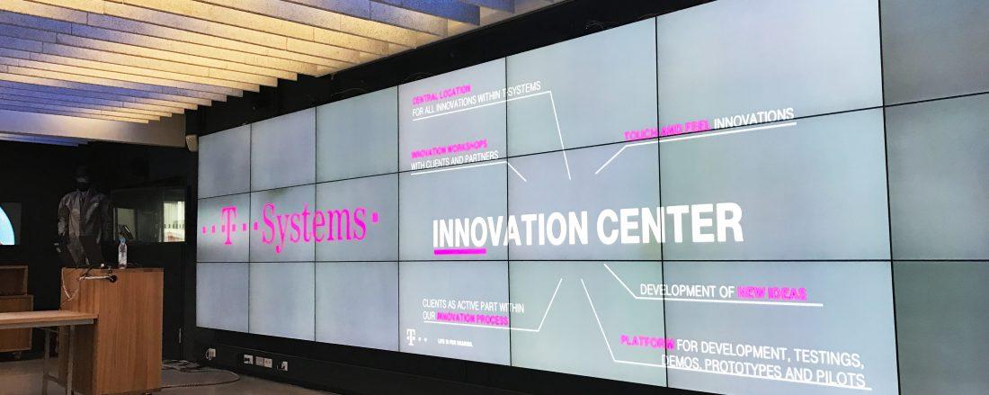Tour durch das innovationLAB während des Deutschen Innovationsgipfels 2017.Tour durch das innovationLAB während des Deutschen Innovationsgipfels 2017.