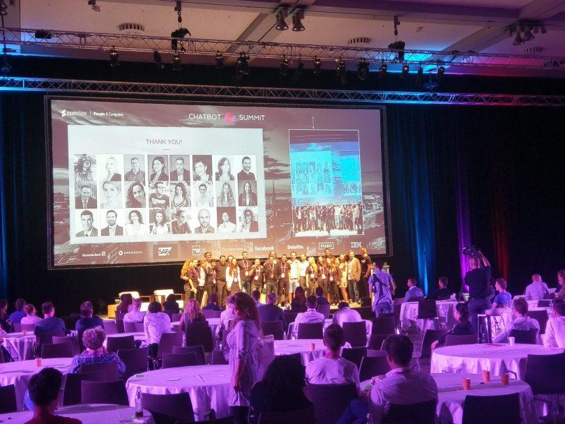 Übersicht aller Teilnehmer des Chatbot Summit 2017
