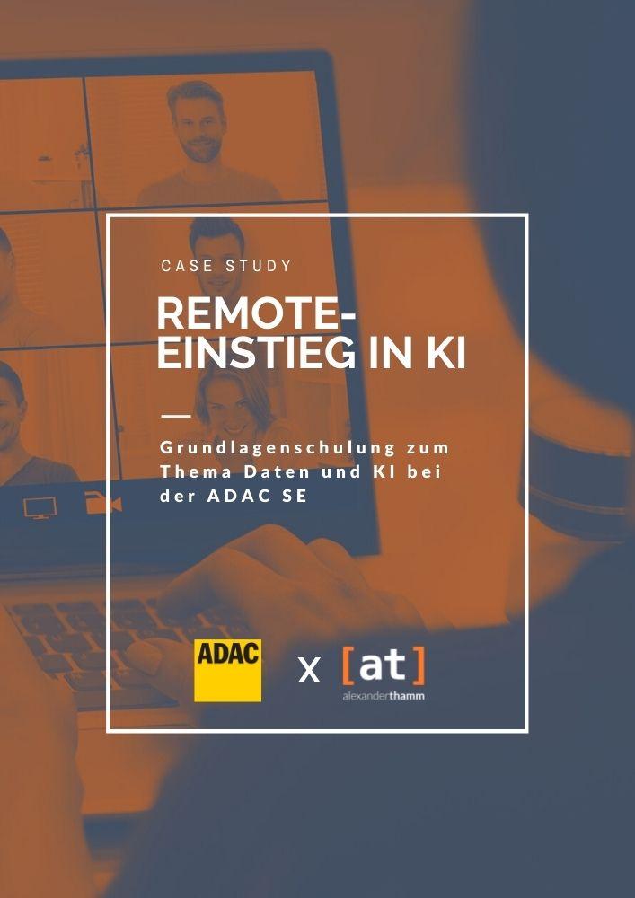 Remote-einstieg in KI mit dem ADAC
