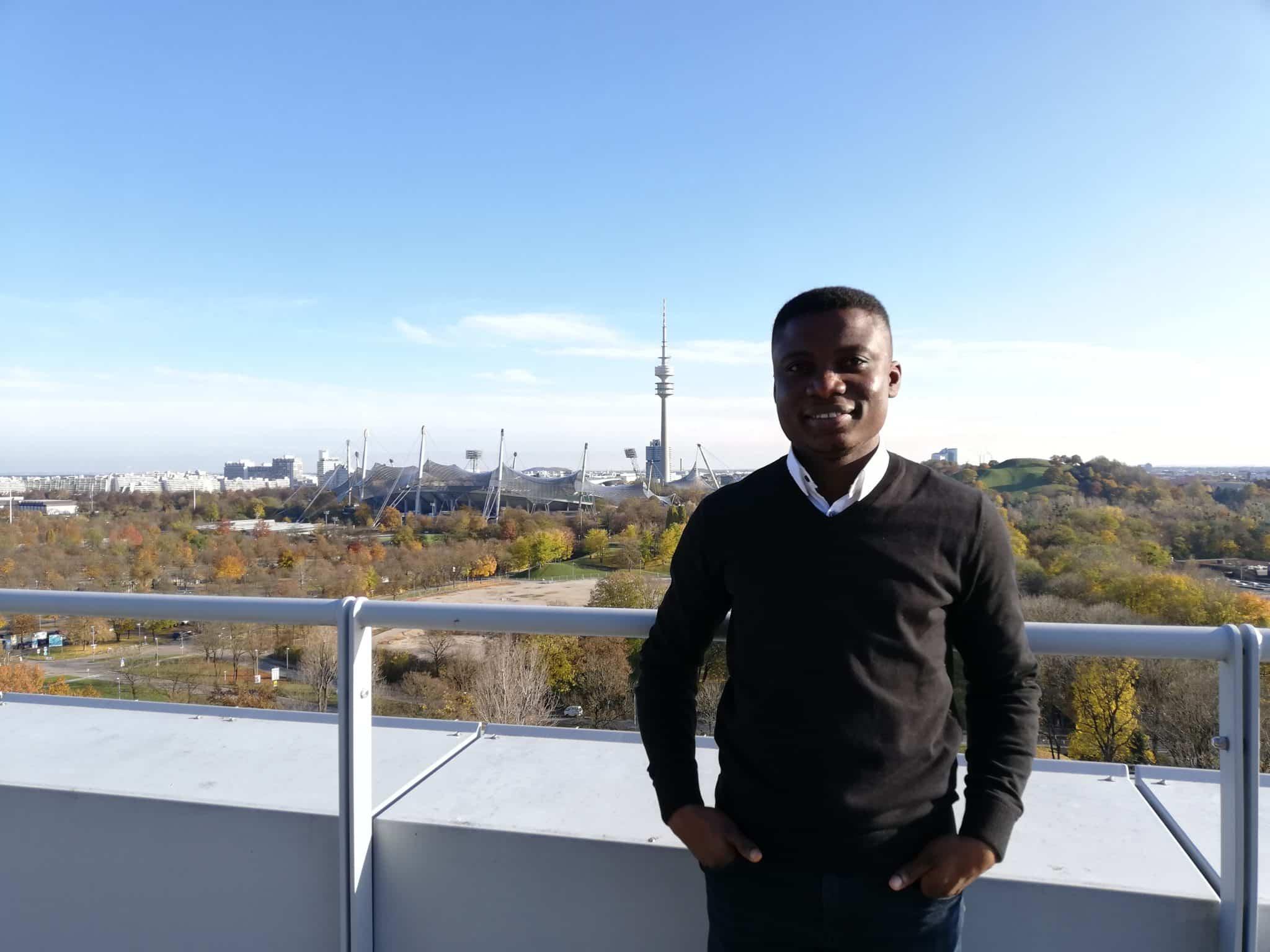 Dr.-Ing. Matthew Bediako Okrah neuer AT Mitarbeiter