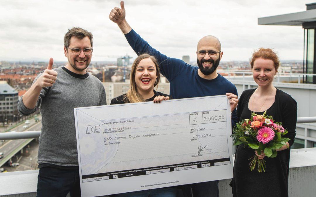 Alexander Thamm GmbH spendet 3.000€ an die ReDI School