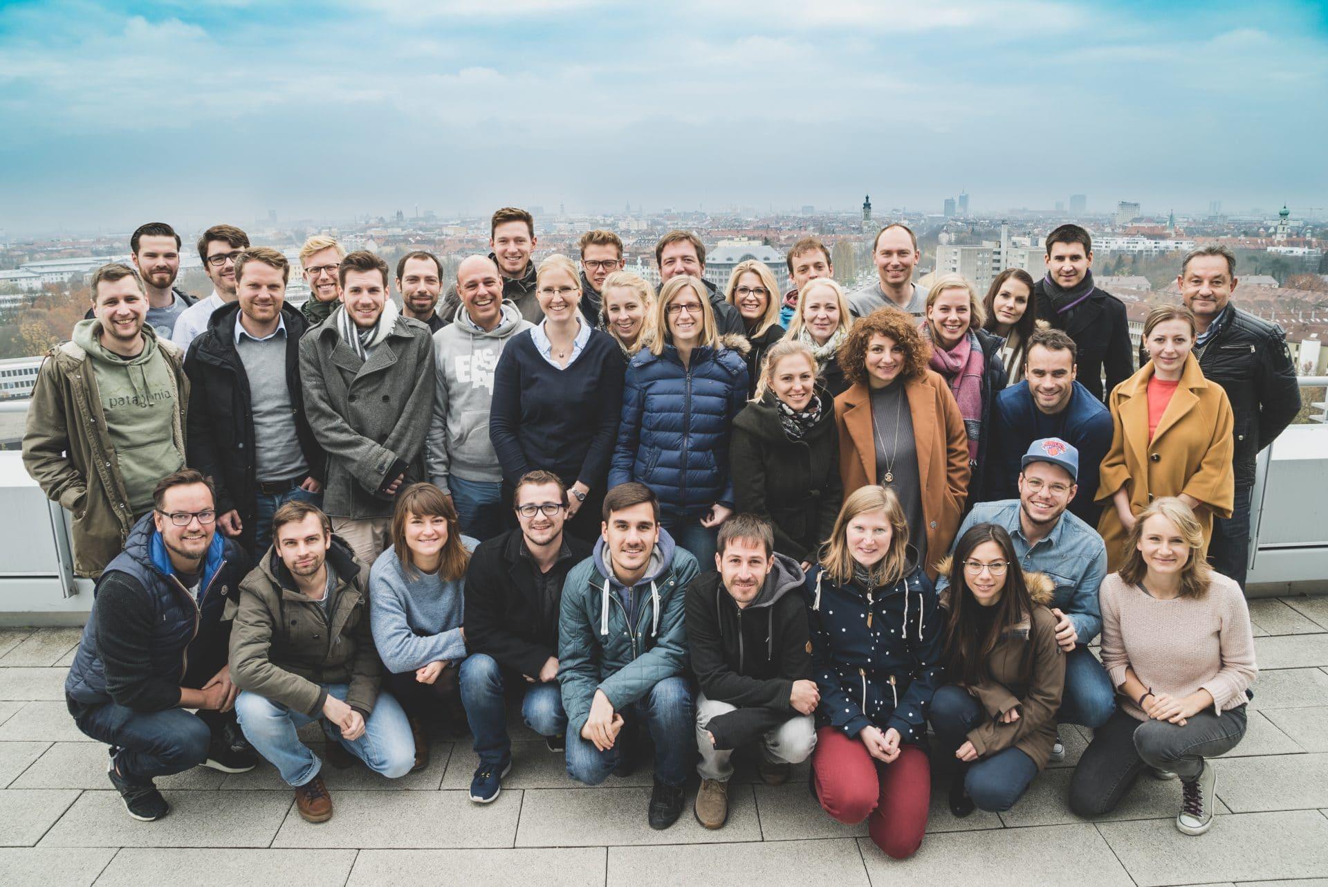Ein Teil des Alexander Thamm GmbH Teams 2017.