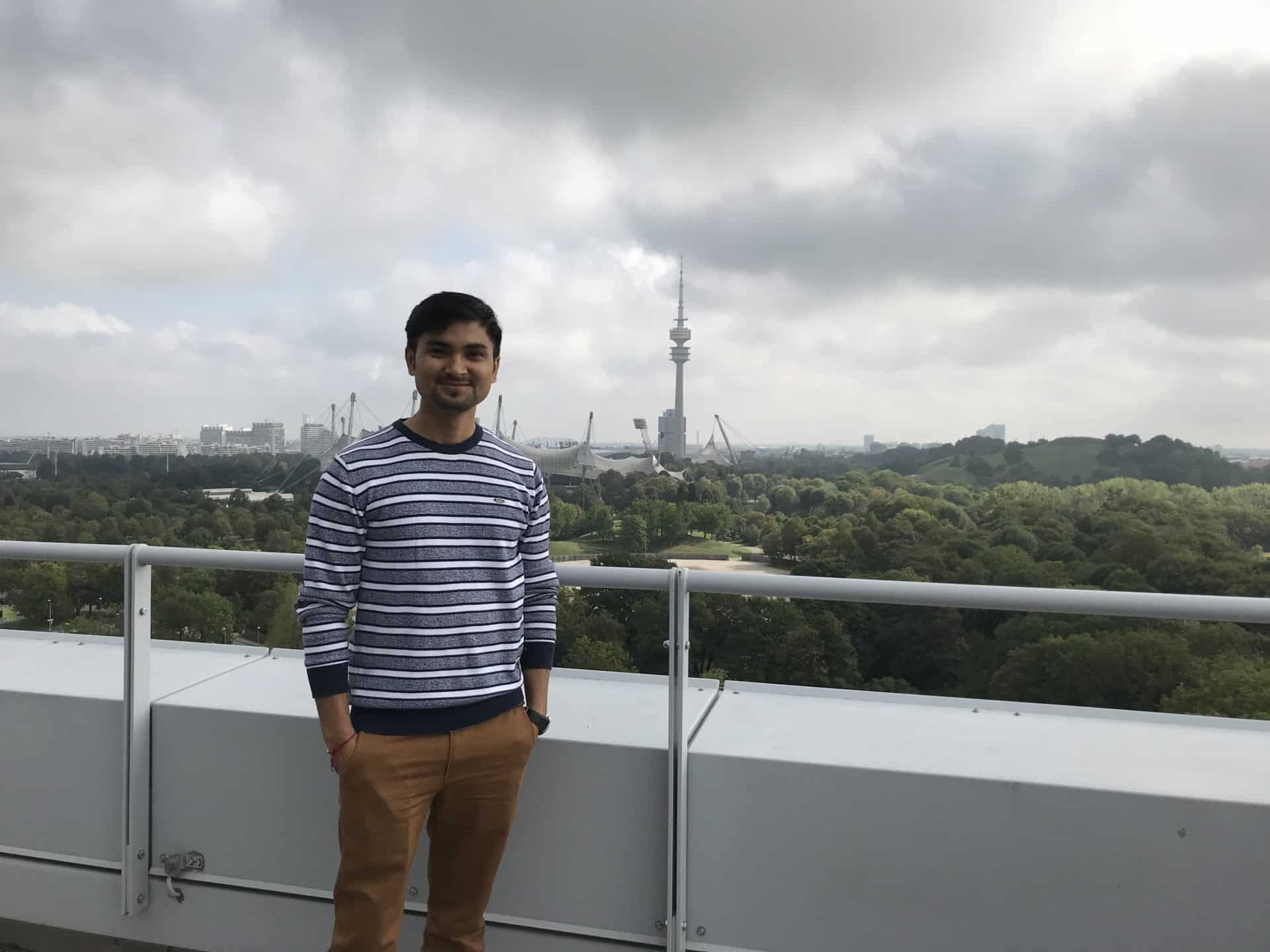 Unser neuer Junior Data Engineer Avinash Mishra