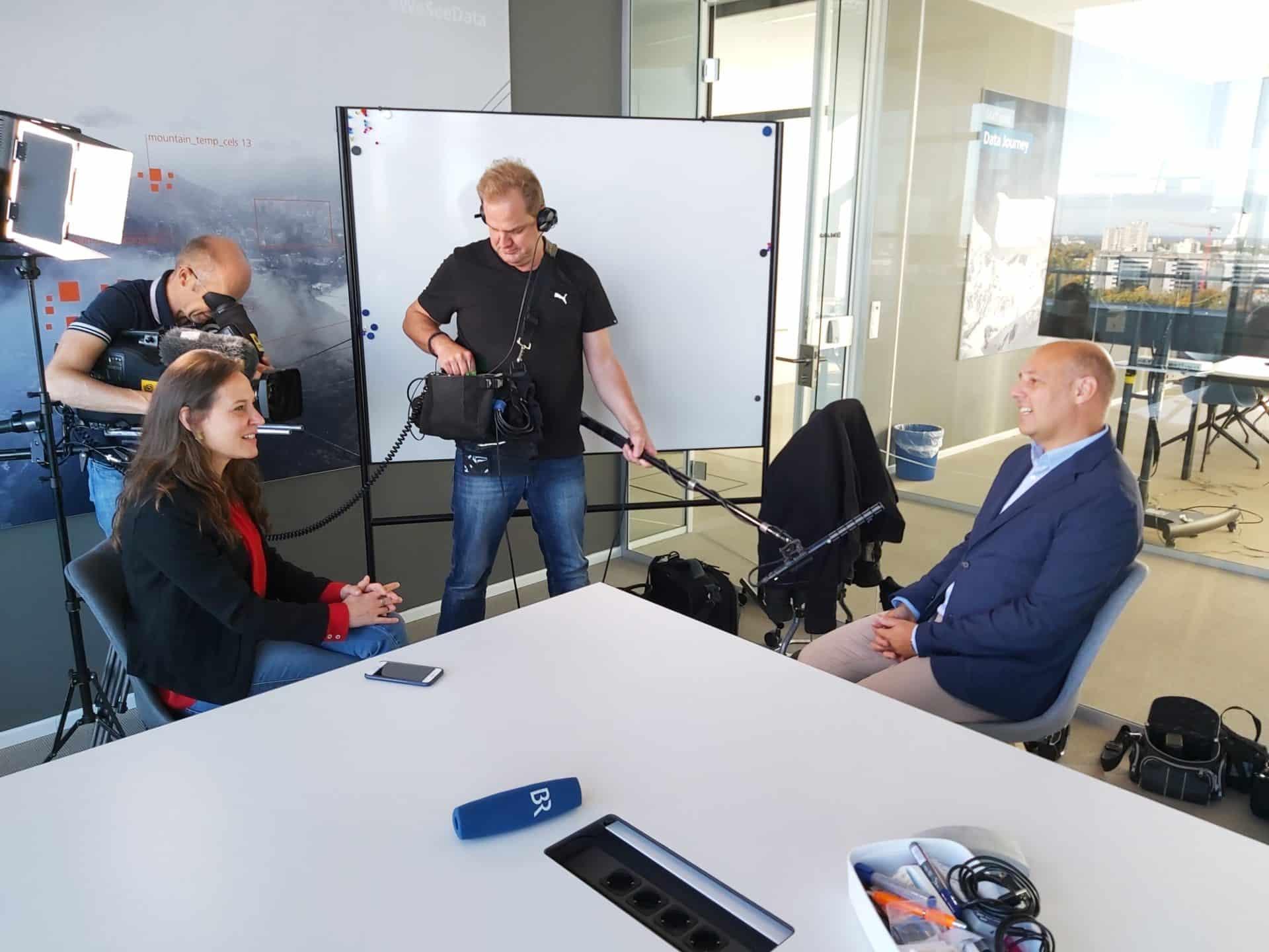 Andreas Gillhuber im Gespräch mit dem BR