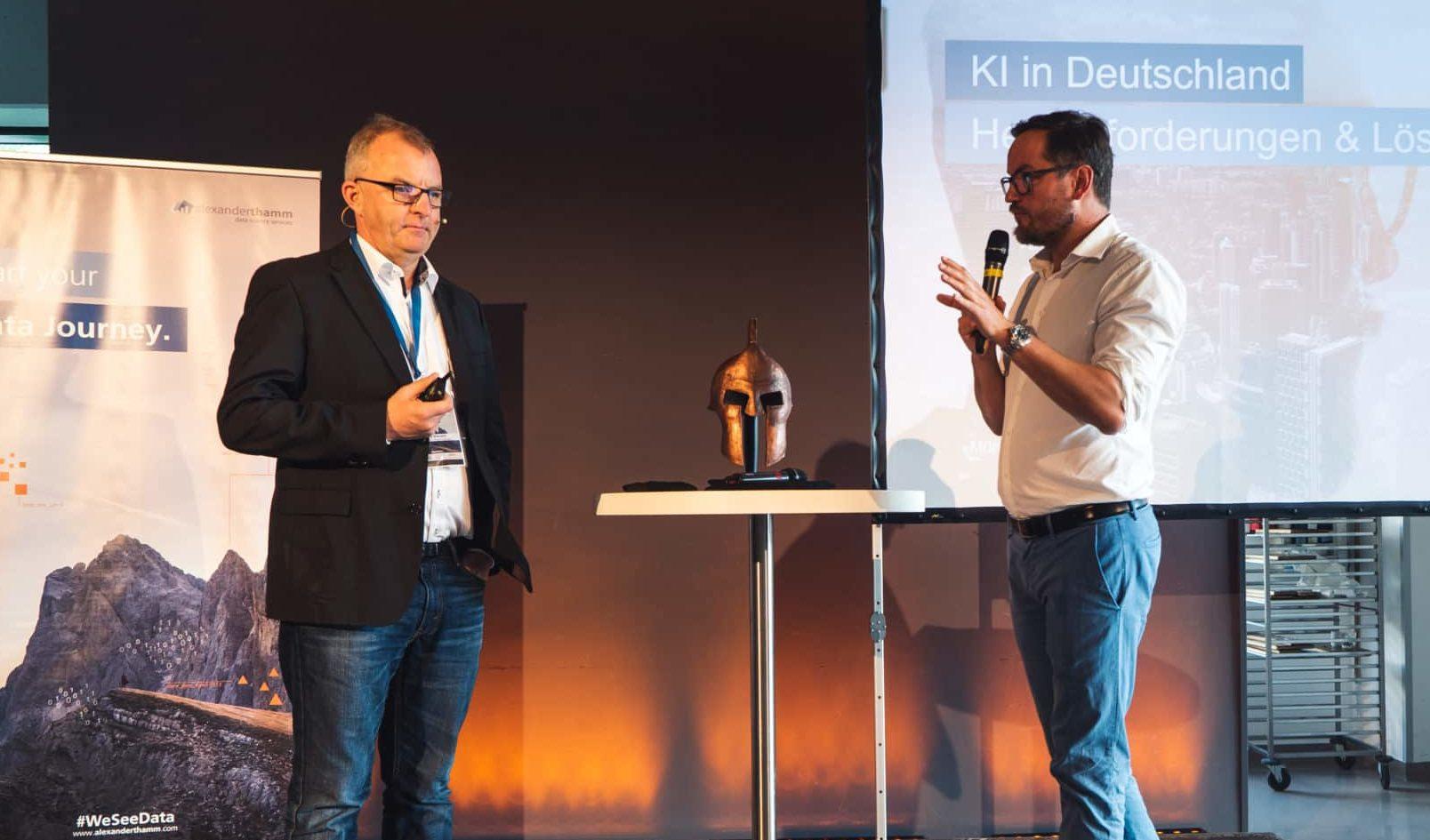 Alexander Thamm und Jörg Bienert
