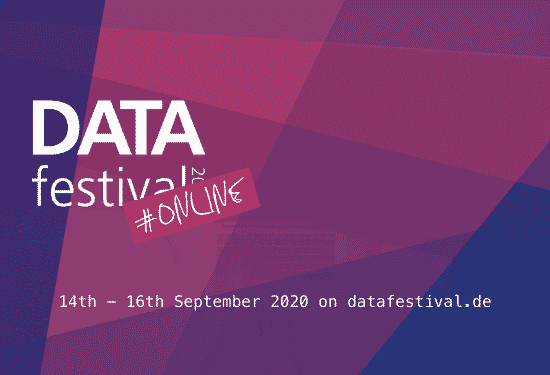 Digitales DATA festival 2020 startet am 14. September 2020