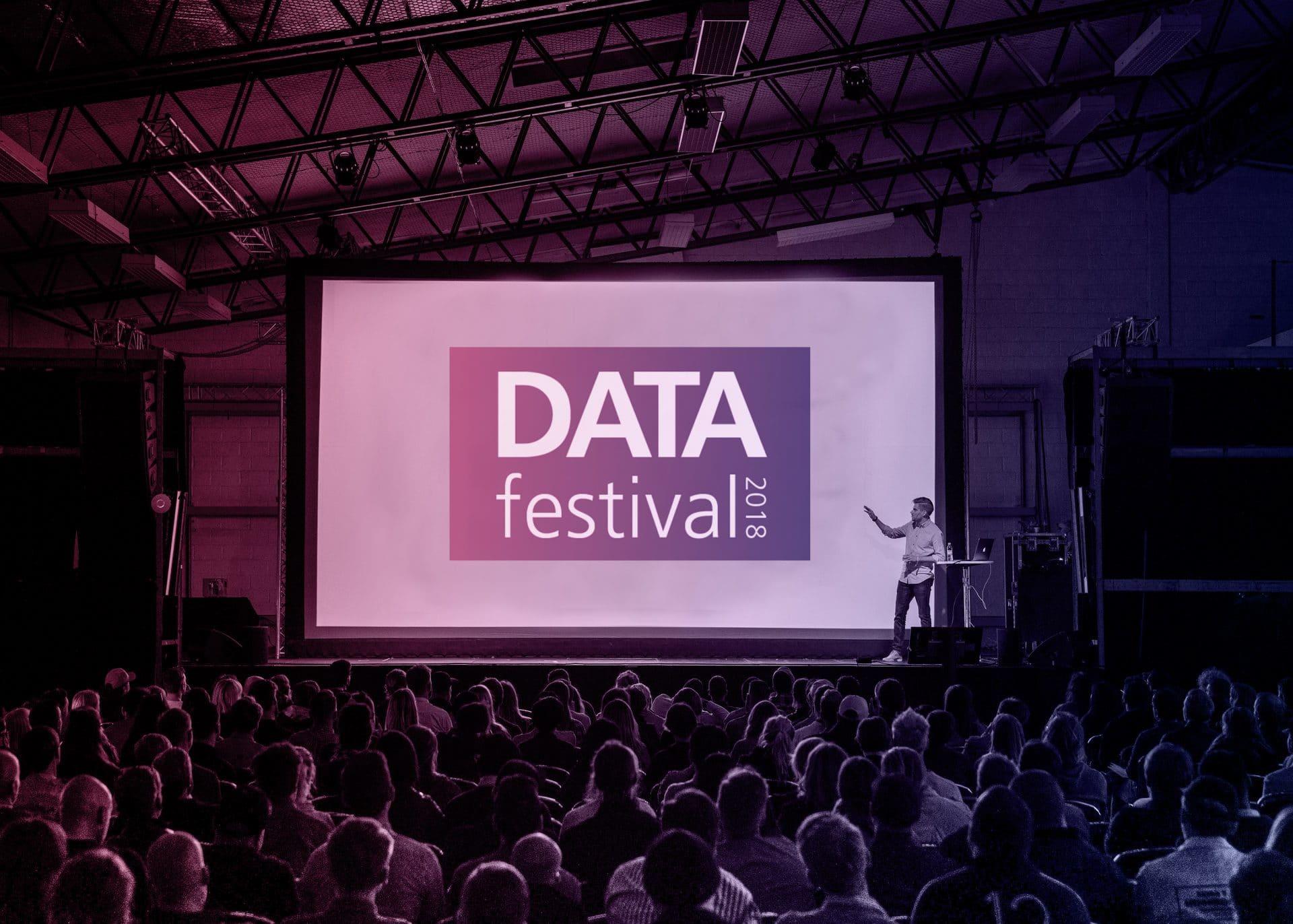 Werden Sie Teilnehmer am Data Festival.