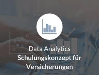 Data Analytics Schulungskonzept für Versicherungen