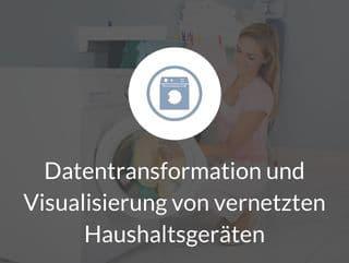 Datentransformation von vernetzten Haushaltsgeräten