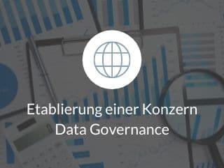 Etablierung einer Konzern Data Governance