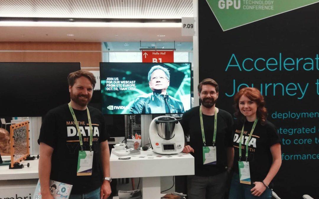 AT und Partner NetApp zu Gast auf dem Branchen-Event zum Thema AI: GTC Europe 2018 in München