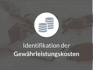 Identifikation der Gewährleistungskosten