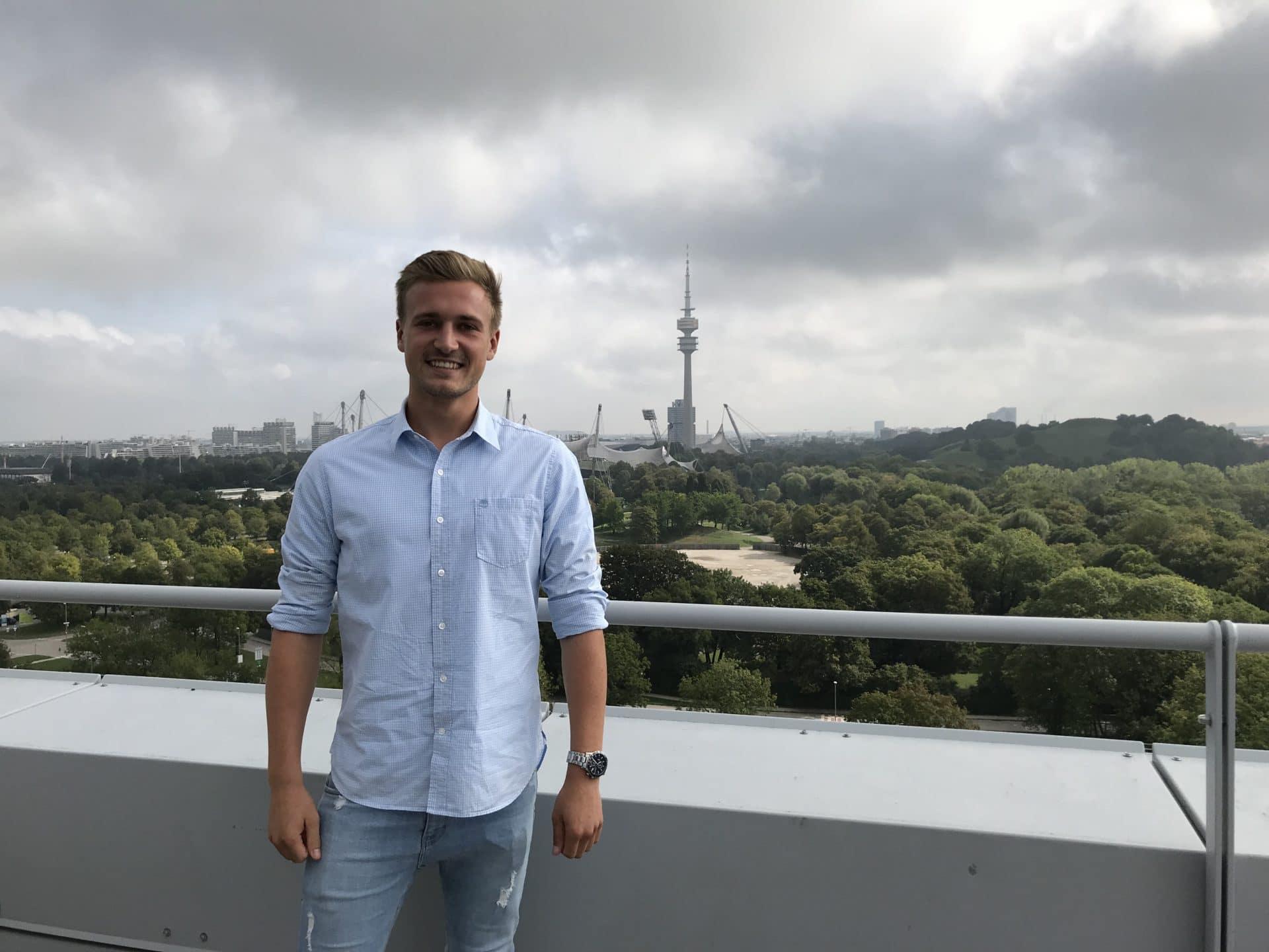 Unser neuer Werkstudent in Data Science Florian Wasserab