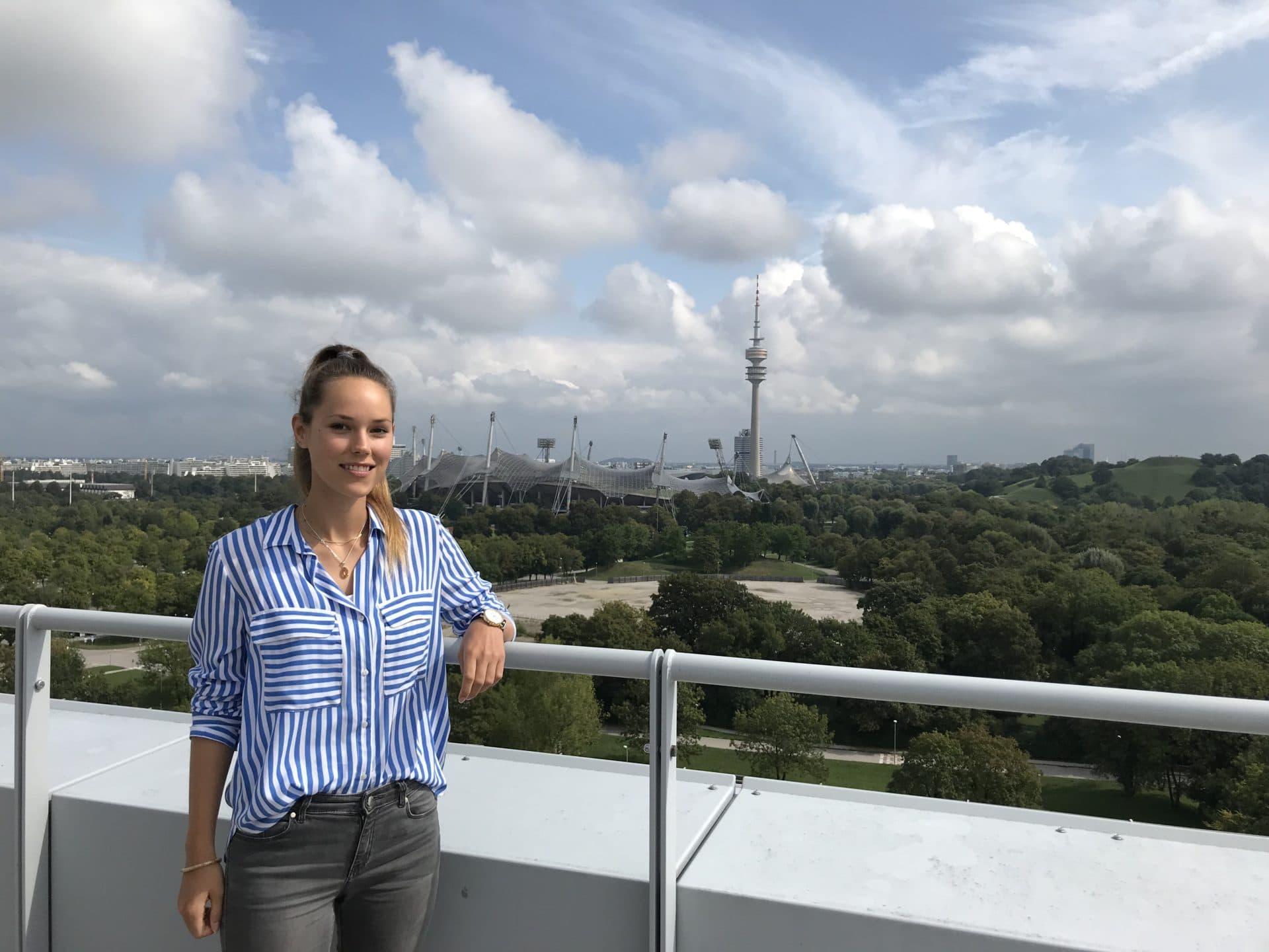 Unsere neue Werkstudentin Lisa Schreiber