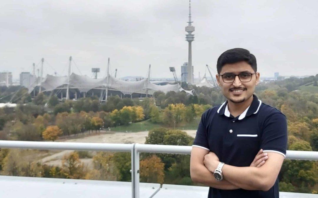 #InsideAT – Unser neuer Trainee Data Science Syed Usama Jamil