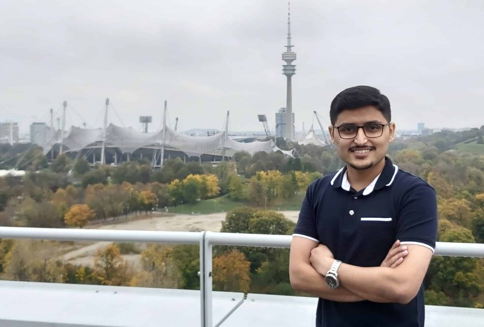 Syed Usama Jamil - Neuer AT Mitarbeiter