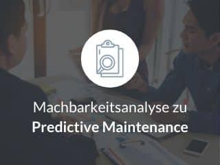 Machbarkeitsanalyse zu Predictive Maintenance
