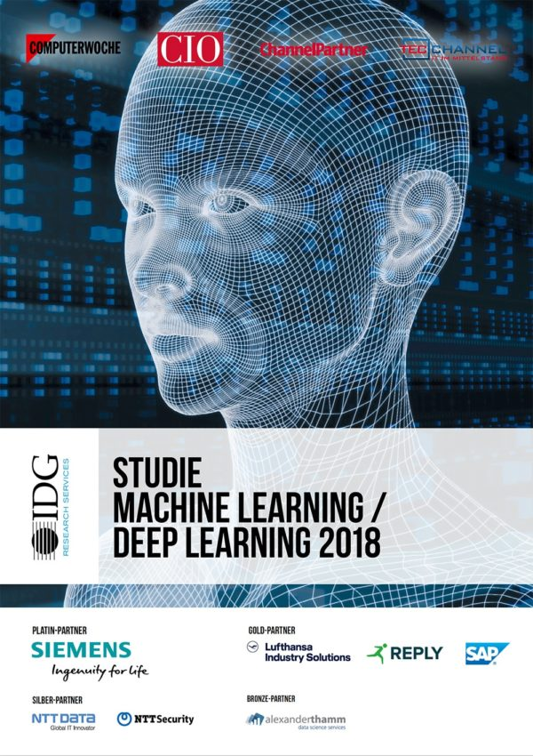 In der aktuellen IDG-Studie Machine Learning / Deep Learning 2018 von IDG Research Services wird die Bedeutung von KI für Unternehmen untersucht.