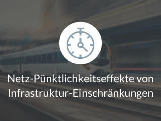 Netz-Pünktlichkeitseffekte von Infrastruktur-Einschränkungen