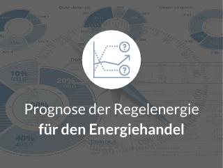 Prognose der Regelenergie für den Energiehandel