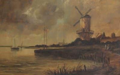 """Echtheit des Van Goghs """"Mühle von Wijk"""" – KI Algorithmen sieht keine Fälschung"""