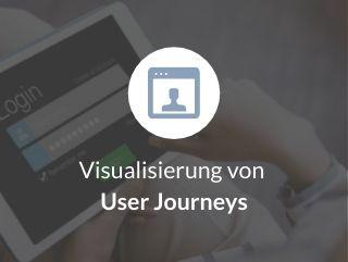 Visualisierung von User Journeys