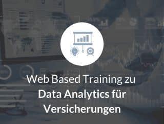 Web Based Training zu Data Analytics für Versicherungen