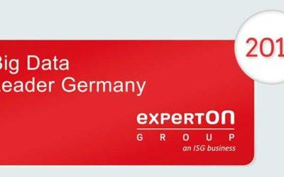 Alexander Thamm GmbH als Big Data Leader von Experton im Big Data Vendor Benchmark 2017 ausgezeichnet