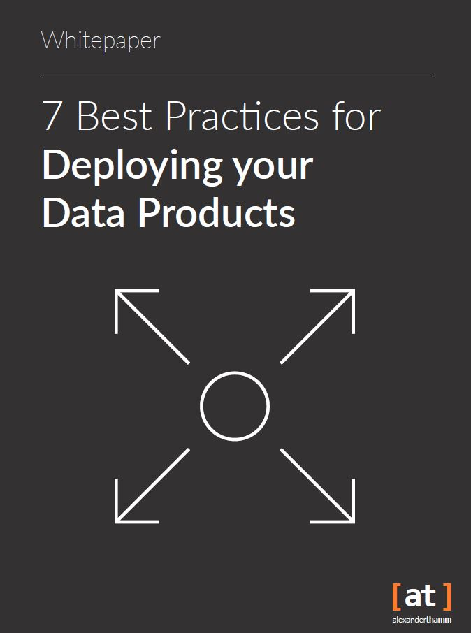 best practices for deploying data products