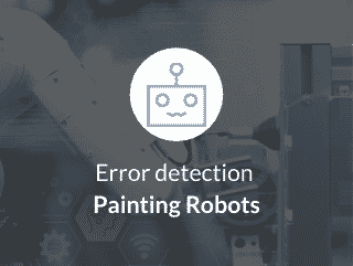 Error detection for painting robots
