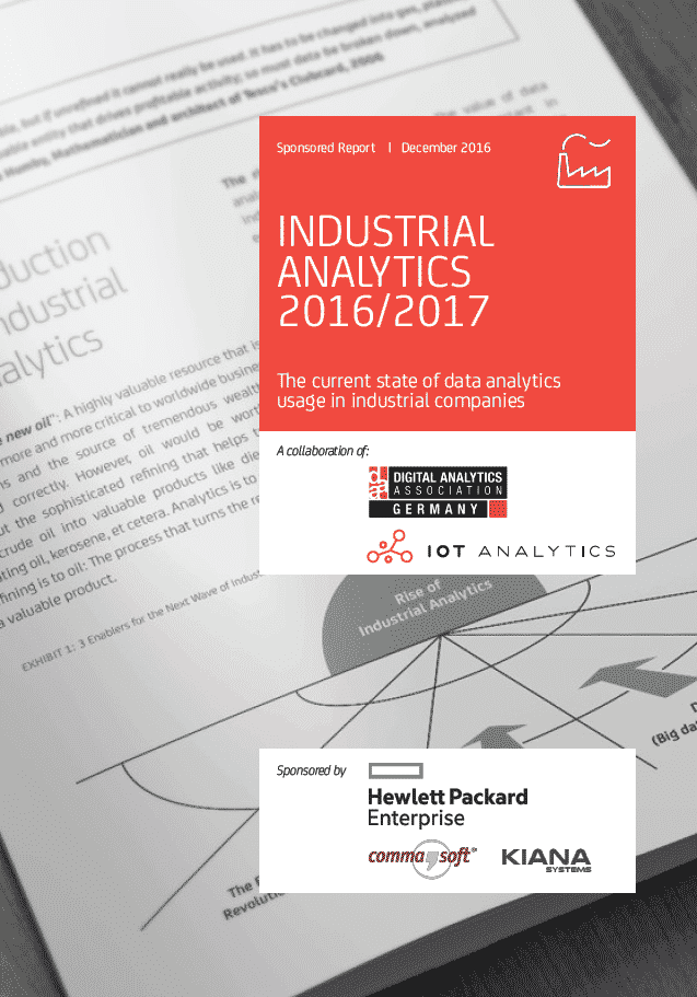 Industrial Analytics Studie
