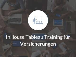 InHouse Tableau Training für Versicherungen
